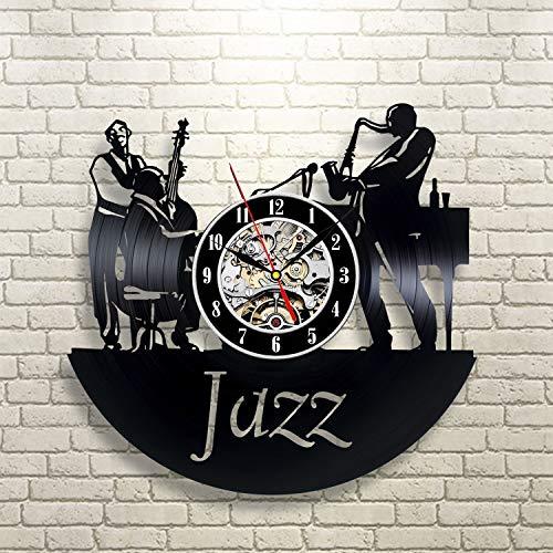 Music Art Vinyl Clock
