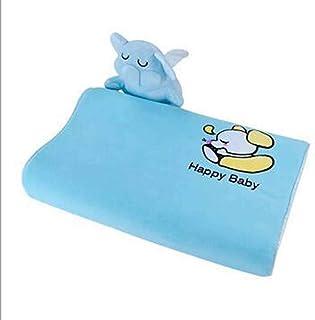 Almohadas de látex, almohada de látex de niños naturales de Tailandia, muñecas para estudiantes para niños, almohada de animales de dibujos animados, almohada del cuello del estudiante,Elephant