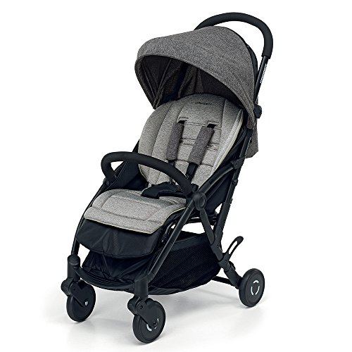 Foppapedretti Boarding - Silla de paseo ligera y super compacta, color gris