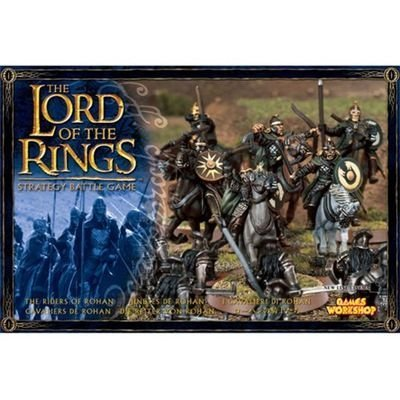 Games Workshop - 99121499004 - Seigneur des Anneaux - Figurine - Cavaliers Du Rohan