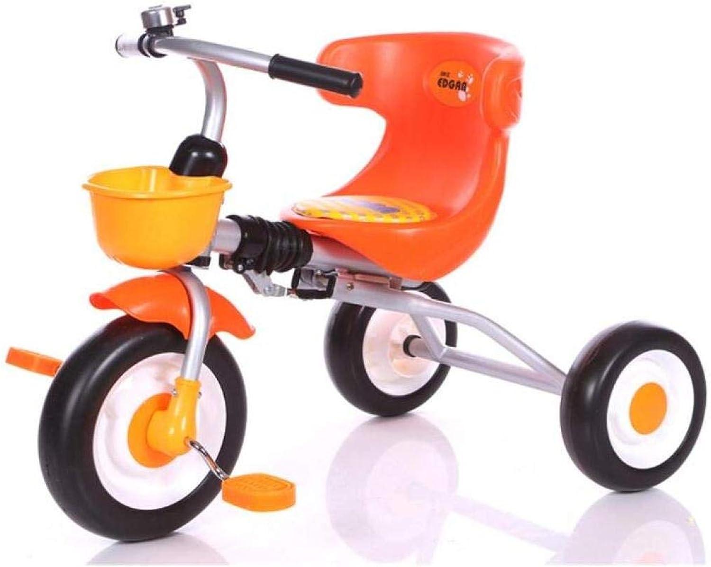 el mas de moda Kids Balance Bike, Triciclo, Triciclo, Triciclo, Cochecito Infantil, Trike, 3 Ruedas, Pedal, Bicicleta, MultiColor, Interior Y Exterior,naranja,UNA  A la venta con descuento del 70%.