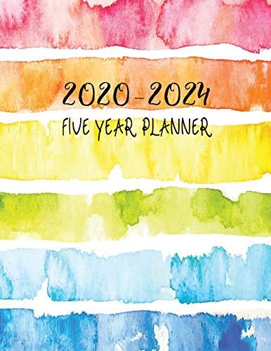 2020-2024 Five Year Planner: 5 Years Monthly Planner, Calendar, Journal Personal, Schedule Organizer