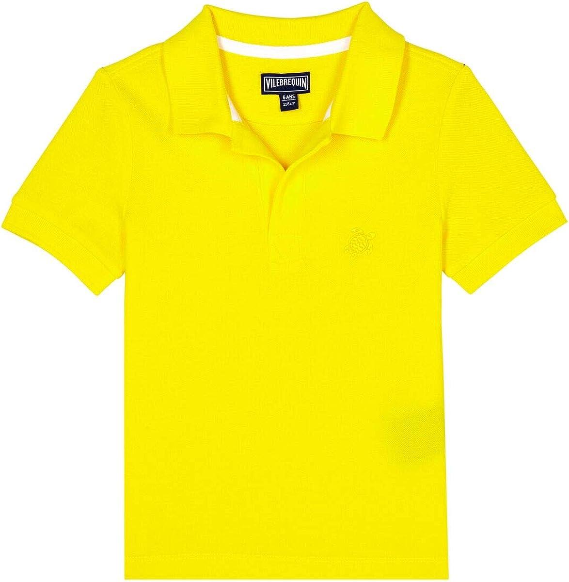 Vilebrequin, Boys Cotton Pique Polo Shirt Solid