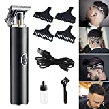 Mens Hair Clippers Hair Trimmer For Men Barber Clippers Beard Trimmer Clippers for Hair Cutting Shavers for Men Grooming Kit Cordless Clippers-Zero Gapped Gifts for Men/Father/Husband/Boyfriend