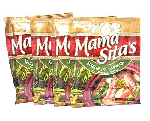 Mama Sita's Sinigang Sa Sampalok Tamarind Seasoning Mix 1.76oz (50g) 4 Pack