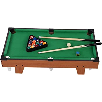 lahomie Mini Mesa de Billar para Niños, Billiards Table Set ...