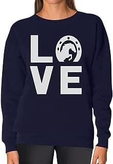 horse wearing sweater