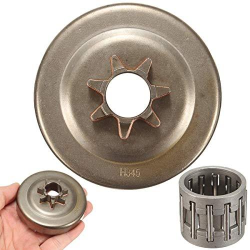 Drum Chain Sprocket 7T Clutch Cover for Husqvarna 340 345 350 445 445E 450 450E