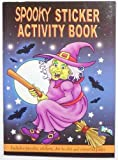 12 Spooky Sticker Books Halloween Trick or Treat Party bag Fillers