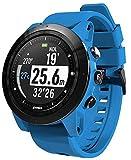 HOG Atmos Mission One Dive Computer/Smart Watch w/Free DDF Slap Strap (Blue/Black)
