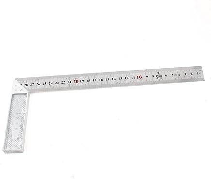 Aexit 2 en 1 50cm 60cm doubles c/ôt/és m/étrique /étudiants r/ègle droite ton argent 422Z947