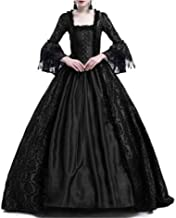 Halloween Costumes for Women Dress Elegant Ball Gown Square Collar Lace Costumes