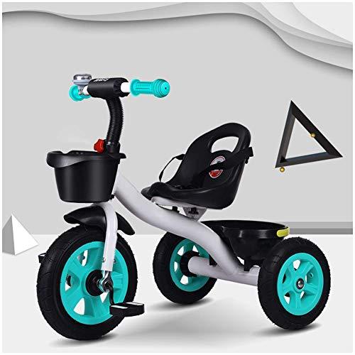 HYLH Kinderdreirad 4 Jahre, Kinder Trike Fahrt Auf 3 Wheeler Dreirad Trike Alter 1-3-6 Fahrrad Smart Kinder Dreirad Kinder, Section B