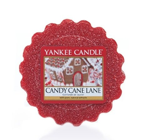 Yankee Candle 1043462E Wax Tart Duftwachs Candy Cane Lane x24 St.