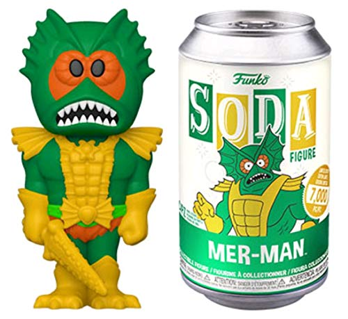 Masters of the Universe Vinyl SODA Mer-Man with (BU) Chase