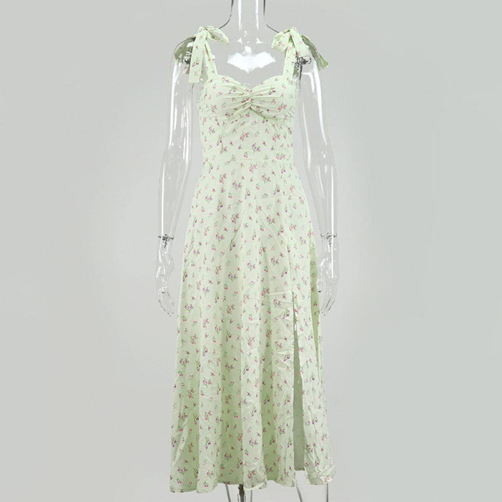 Uongfi Wedding Dresses for Bride Cryptographic Women's Floral Pr