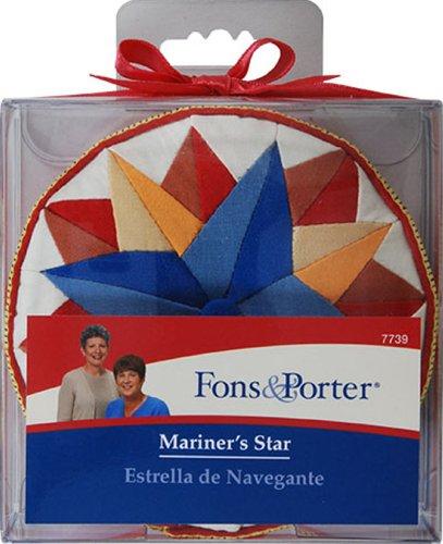 Fons & Porter 7739 Mariner's Star Pin Cushion