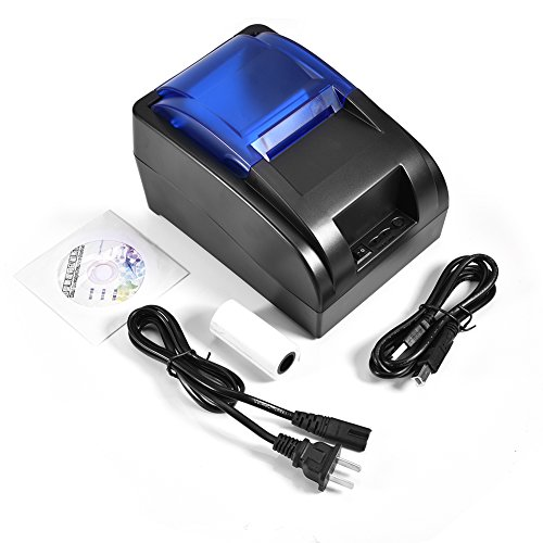 %6 OFF! Thermal Printer, USB Professional Durable Practical for iOS Android Win Linux Receipt Printe...