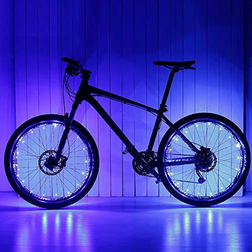 Fahrradbeleuchtung Led Set Kinder, Led Fahrradlicht Frontlicht Fahrradlampe Led Set Kinder Fahrrad Lichter Led Set Geburtstag Geschenke für 5-18 Jährige Jungen Mädchen