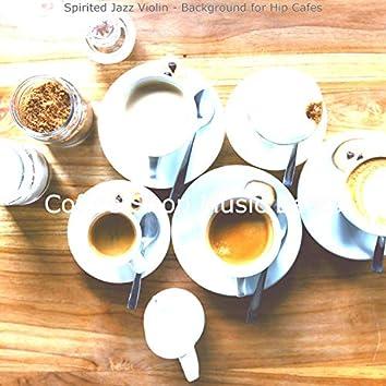 Spirited Jazz Violin - Background for Hip Cafes