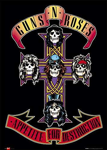 Tainsi Guns N  Roses - Appetite for Destruction Album Musicale Poster(11x17inch,28x43cm)