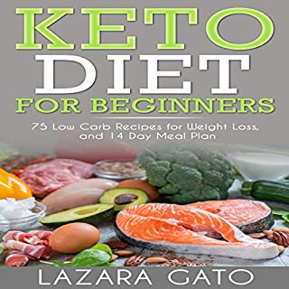 Keto Diet for Beginners cover art