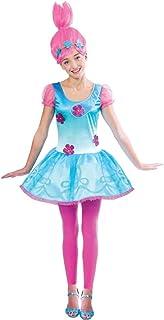 Amscan 9901488 Trolls Princess Poppy Costume - Age 10-12 Years - 1 Pc