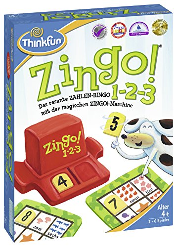 Ravensburger Zingo 1-2-3 - Producto , color/modelo surtido