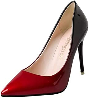 THE LONDON STORE Women's High Heels Women Pumps Nightclub Casual Shoes Pointed Toe Parties Dress