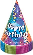 Brilliant Birthday-Partyhüte aus, 8 Stück