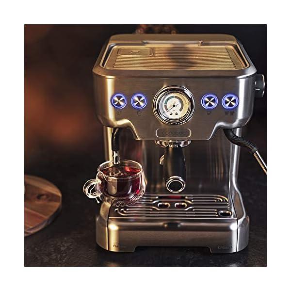 Cecotec Cafetera Express Power Espresso 20 Barista Pro. Thermoblock para