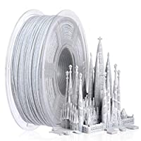 【SUNLU Marble 3D Filament 1.75mm】The PLA marble color adds a realistic marble visualization to the 3D printed part. Marble PLA will adds new fun to your prints. The subtle marble tones is randomly dispersed throughout the print creating a unique look...