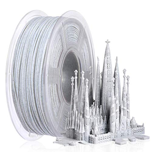 SUNLU Marmor PLA 3D Printer Filament 1.75mm, PLA Filament for 3D Drucker 3D Pen,1kg per Spool