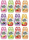 Sweetleaf Stevia - Variety Pack, Natural Flavored Water Enhancer, Bottles,Sugar Free, Zero Calorie, Fruit Flavored Liquid Drink Mix with Stevia and Healthy Antioxidants (pack of 12)