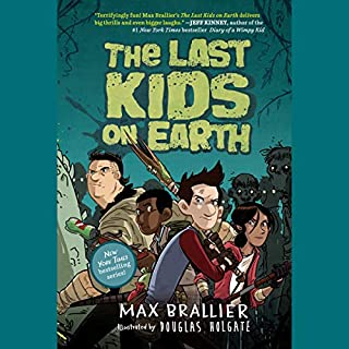 The Last Kids on Earth audiobook cover art