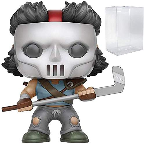 Funko Pop! Animation: TMNT Teenage Mutant Ninja Turtles - Casey Jones Specialty Series Exclusive Vinyl Figure (Includes Compatible Pop Box Protector Case)