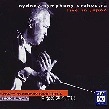 Sydney Symphony Orchestra Live In Japan