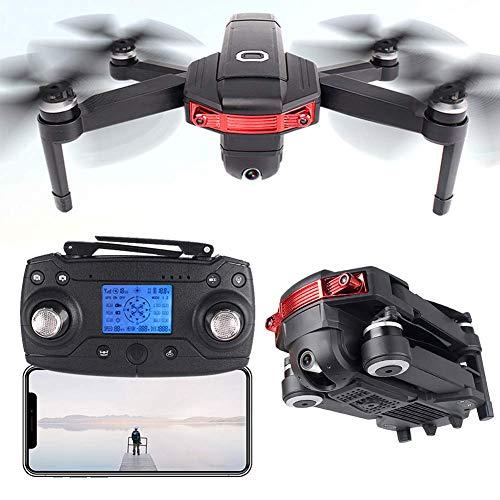 Quadcopter de RC plegable, Motor sin escobillas Drone FPV FPV, Posicionamiento de GPS RC Drone, Cámara de gran angular de 4K ESC, 360DEG;Tiro envolvente, trayectoria Vuelo 50 minutos Duración de la ba