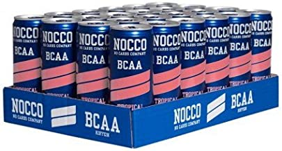 Nocco – 1 RTD BCAA Drink Carb free 24x330ml Tropical Estimated Price : £ 42,59