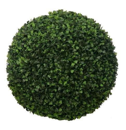 McPalms fertige künstliche Buchsbaumkugel Ø ca. 40 cm Buchsbaum Buxus Buxkugel