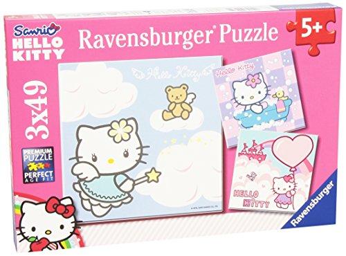 Hello Kitty   Puzzle, 3 x 49 Piezas 09271 0