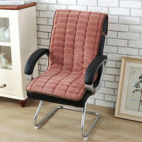 OSHDKSLDS Coussin de siège,Back-Office épaissir Coussin de Chaise d'Ordinateur à Manger Chaise Pad Ass Coussin de Fauteuil étudiant Siamois-C 50x130cm(20x51inch)