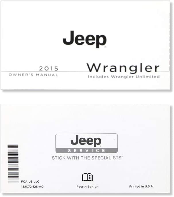2015 Jeep Ranking integrated 1st place Ranking TOP20 Wrangler Manual Owner's