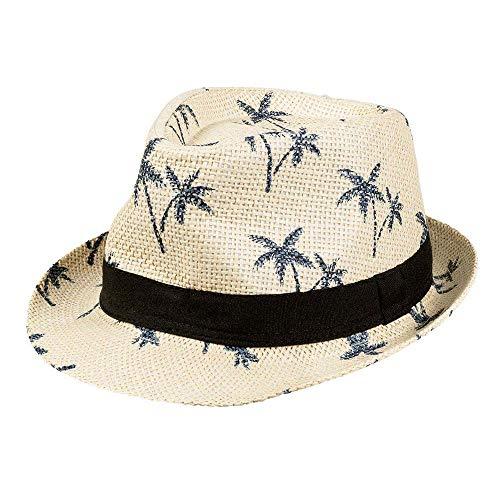 Boland- Hat Palms 57 52158 Palmeras Tropicales, Vacaciones, Sombrero de Sol, Fiesta temtica, Carnaval, Multicolor