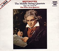 Beethoven: The Middle String Quartets (Opp. 59, 74 & 95)