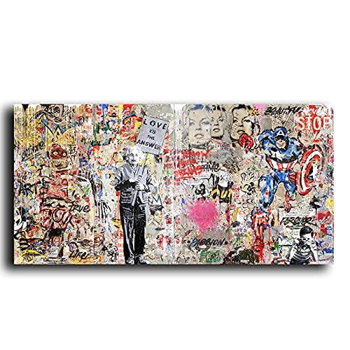cuadro graffiti de la marca dsajgker