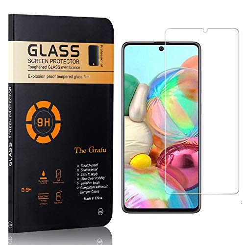 Read About The Grafu Screen Protector for Galaxy M80S, Ultra Thin Tempered Glass Screen Protector, 9...