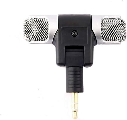 XIANGA Microfono Microfono Stereo del Mini Microfono Senza Fili Portatile di 3.5mm per la Registrazione del Microfono di intervista dello Studio del Telefono Cellulare per Android iPhone - Trova i prezzi più bassi