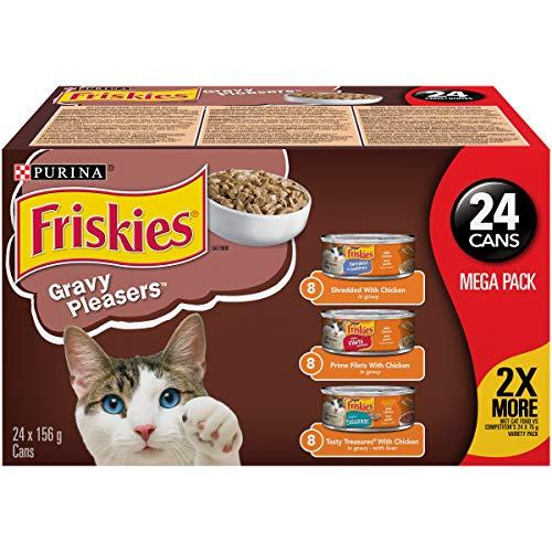 Purina® Friskies® Sauce PleasuresTM 24 à 156 g