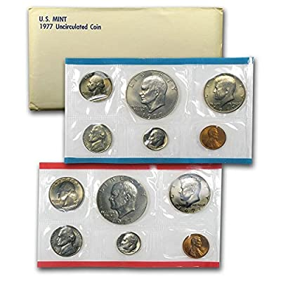 1977 US 12 Piece Mint Set In original packaging from US mint Uncirculated